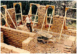 Authentic adobe brick construction for Adobe construction cost